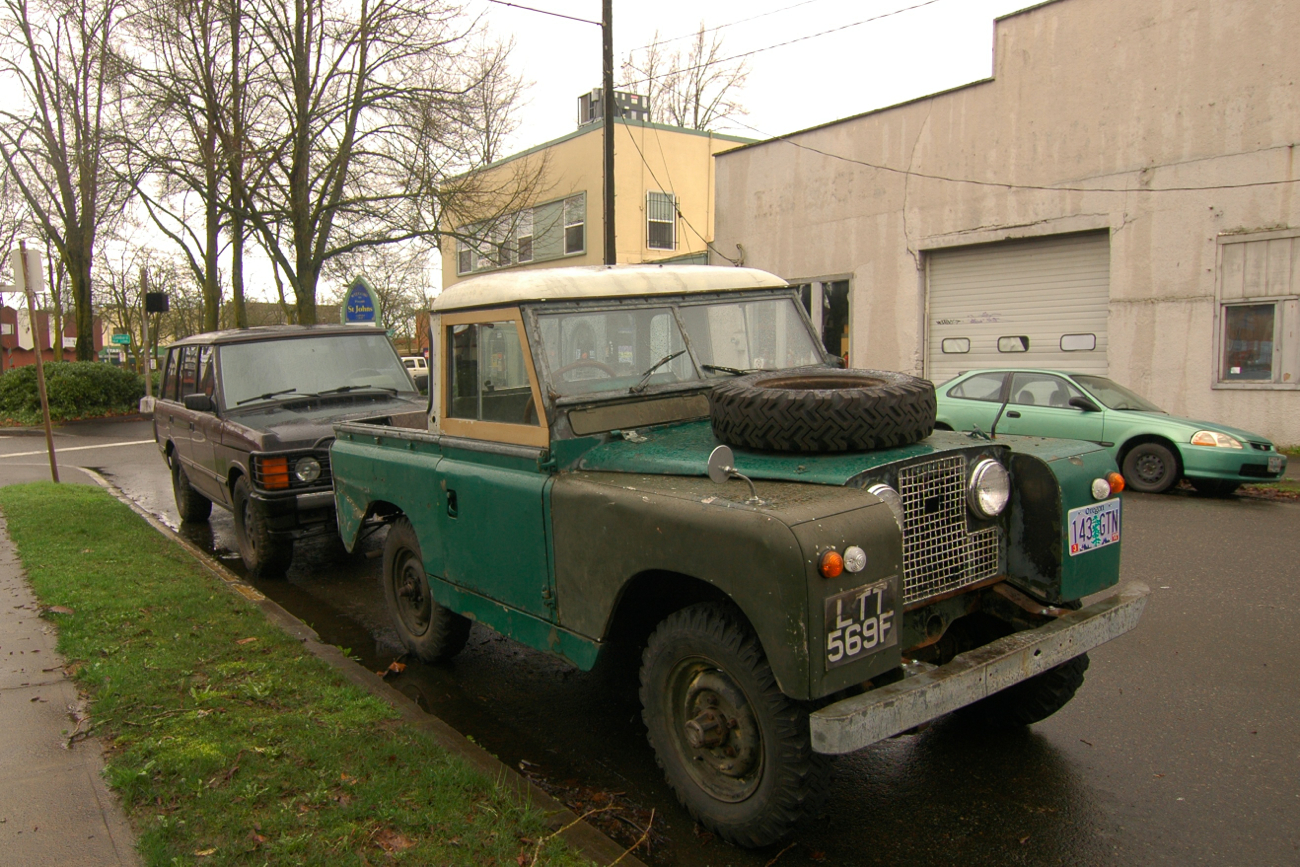 1965 Land Rover Series II Truck