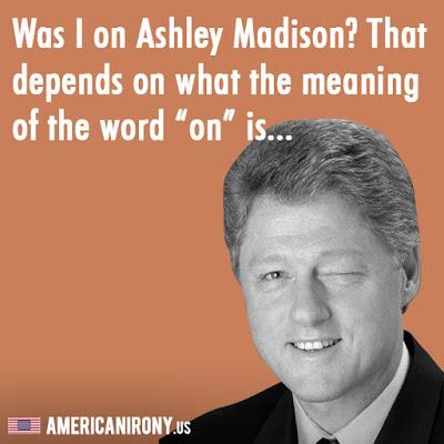 Bill Clinton Ashley Madison