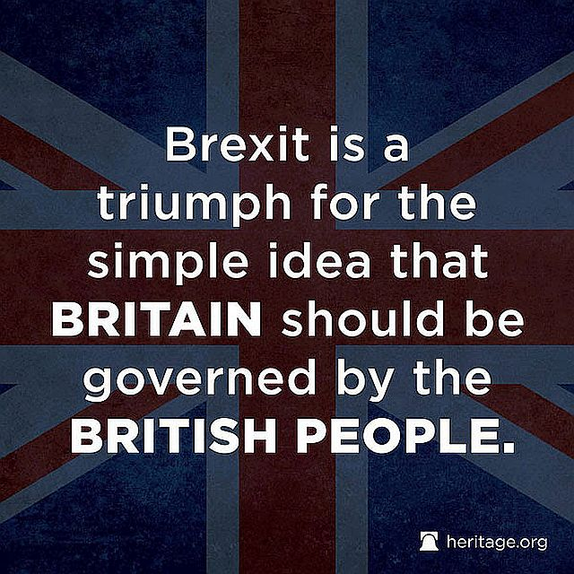 Brexit - Governed By the British People