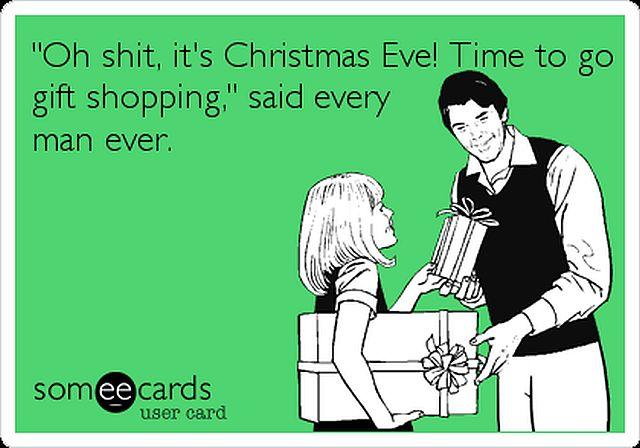 Christmas Eve Shopping