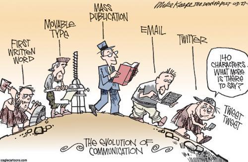 Evolution of Communcation