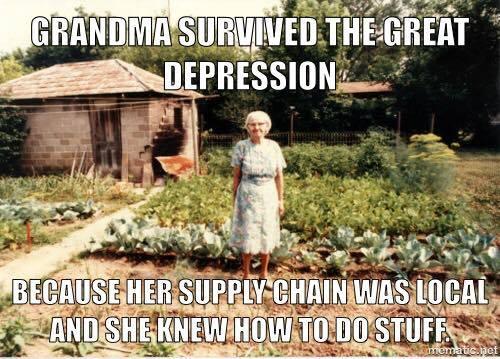 Grandma and the Depression