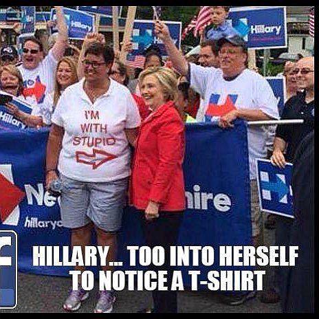 Hillary Stupid