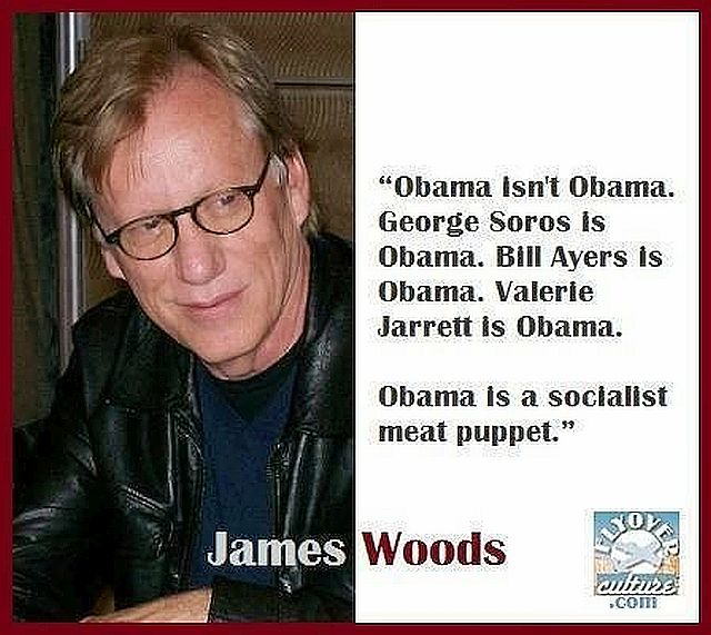 James Woods Quote - Obambi