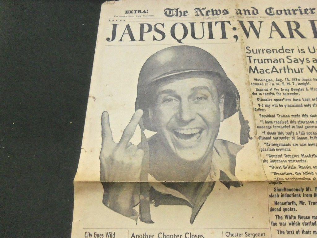 Japs Quit