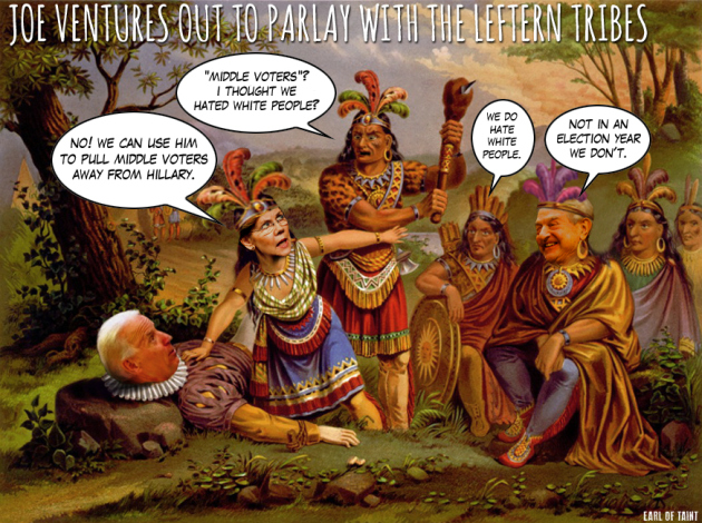 Joe Biden - Leftist Tribes