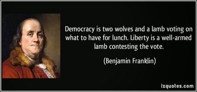 Liberty - Benjamin Franklin