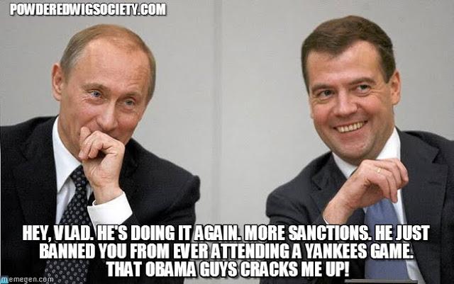 Putin Reacting