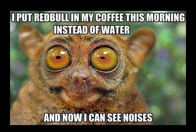 Redbull in Coffee
