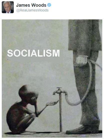 Socialism via James Woods