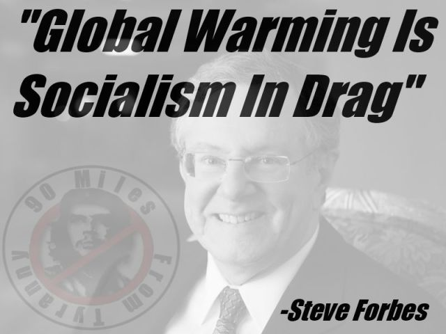 Steve Forbes - Global Warming