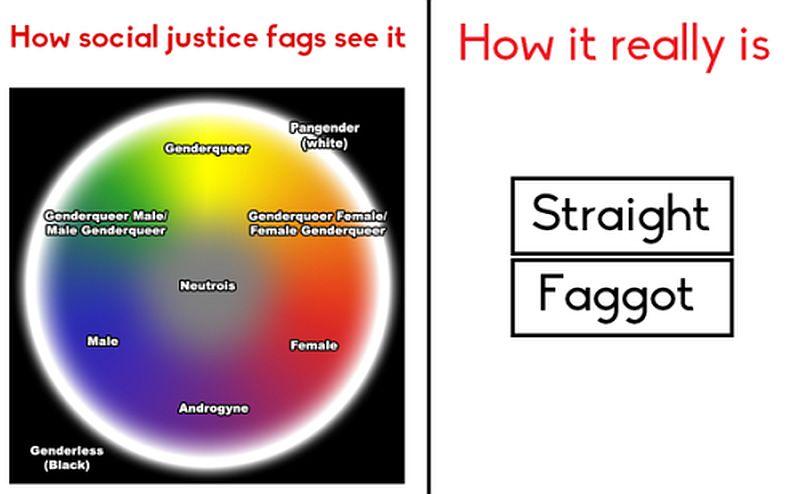 Straight - Faggot