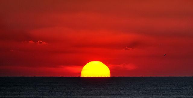 Sun Sinking