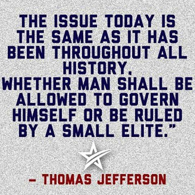 Thomas Jefferson Quote - Self Governance